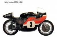 HD XR750 - 1968
