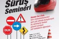 Honda Motosiklette Güvenli Sürüş Semineri