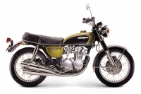 Honda CB500 Dream Four - 1971