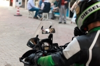 Motosiklet Kör Nokta Tarayıcı Ayna
