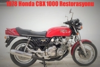 1978 Honda CBX 1000 Restorasyonu