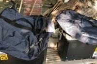 BMW R1200 GS için aluminyum Globe Scout yan çantalar