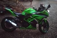 Kawasaki ninja Bayandan temiz satılık