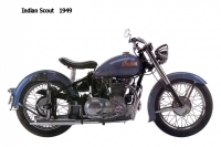 Indian Scout - 1949