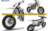 Husqvarna Yenilenen FS 450 Supermoto'yu Sundu