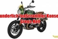 Wunderlich'ten RnineT Scrambler Konsepti: Green Hell