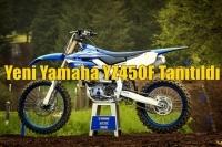 Yeni Yamaha YZ450F Tanıtıldı