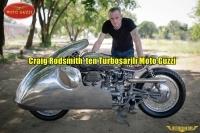 Craig Rodsmith'in Turboşarjlı Moto Guzzi'si