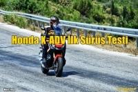 Honda X-ADV İlk Sürüş Testi