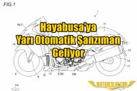 Hayabusa'ya Yarı Otomatik Şanzıman Geliyor
