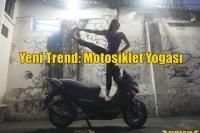 Yeni Trend: Motosiklet Yogası