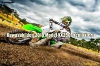 Kawasaki'den 2018 Model KX250F Yenilikleri