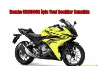 Honda CBR500R İçin Yeni Renkler Sunuldu