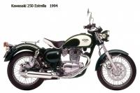 Kawasaki 250 Estrella - 1994
