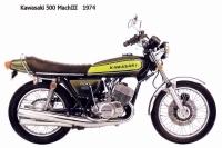 Kawasaki 500 MachIII - 1974