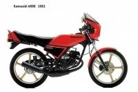 Kawasaki AR80 - 1981