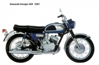 Kawasaki Avenger 350 - 1967
