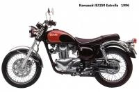 Kawasaki BJ250 Estrella - 1996