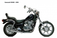 Kawasaki EN500 - 1990