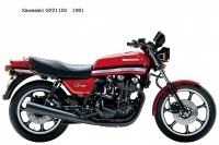 Kawasaki GPZ1100 - 1981