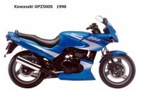 Kawasaki GPZ500S - 1996