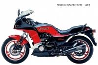 Kawasaki GPZ750 Turbo - 1983