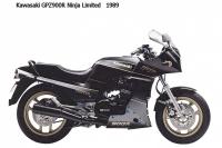 Kawasaki-GPZ900R NinjaLimited - 1989