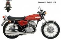 Kawasaki H1 Mach3 - 1970
