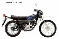 Kawasaki KE175 - 1977