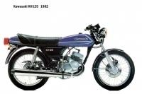 Kawasaki KH125 - 1982