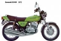 Kawasaki KH400 - 1972