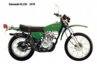 Kawasaki KL250 - 1978