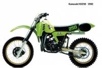 Kawasaki KX250 - 1982