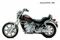 Kawasaki VN750 - 1986