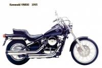 Kawasaki VN800 - 1995