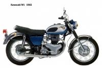 Kawasaki W1 - 1965