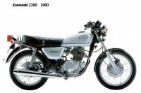 Kawasaki Z200 1980