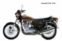 Kawasaki Z750 - 1976