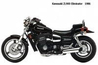 Kawasaki ZL900 Eliminator - 1986
