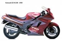 Kawasaki ZZ R1100 - 1990