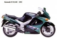 Kawasaki ZZ R1100 - 1993