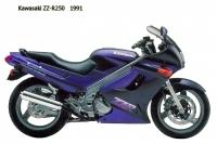 Kawasaki ZZ R250 - 1991