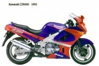 Kawasaki ZZR600 - 1993