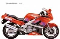 Kawasaki ZZR600 - 1995