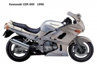 Kawasaki ZZR600 - 1998