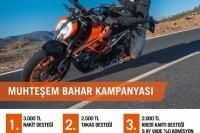 KTM'den Muhteşem Bahar Kampanyası