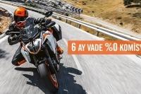 KTM Spormoto'dan 6 Ay Vade Sıfır Komisyon