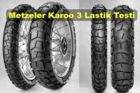 Metzeler Karoo 3 Lastik Testi