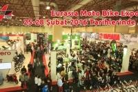 Eurasia Moto Bike Expo  25-28 Şubat 2016