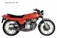Moto Guzzi 254 - 1977
